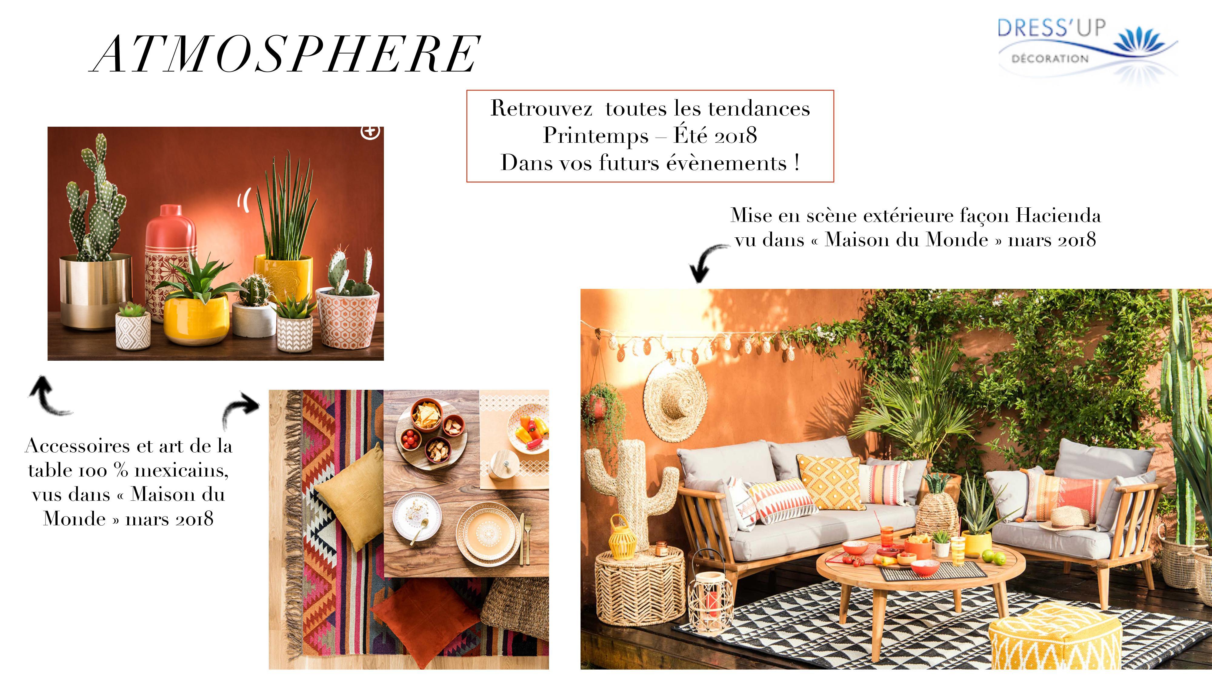 atmosph re decoration amerique du sud dress 39 up. Black Bedroom Furniture Sets. Home Design Ideas
